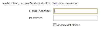 Anmeldung mit E-Mail-Adresse und Passwort