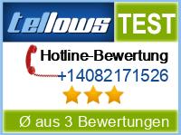 tellows Bewertung +14082171526