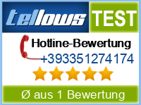 tellows Bewertung +393351274174