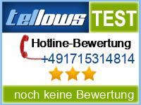 tellows Bewertung +491715314814