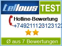 tellows Bewertung +749211123123123