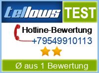 tellows Bewertung +79549910113