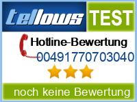 tellows Bewertung 00491770703040