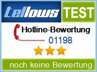 tellows Bewertung 01198