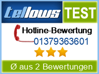 tellows Bewertung 01379363601