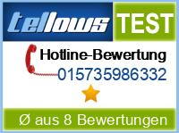 tellows Bewertung 015735986332