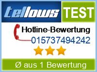 tellows Bewertung 015737494242