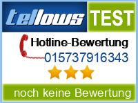 tellows Bewertung 015737916343