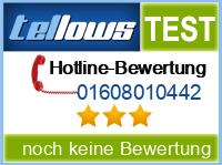 tellows Bewertung 01608010442