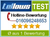 tellows Bewertung 016096248653