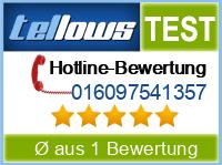 tellows Bewertung 016097541357