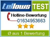 tellows Bewertung 01634953663