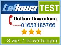 tellows Bewertung 01638185766