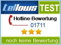 tellows Bewertung 01711