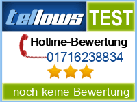 tellows Bewertung 01716238834