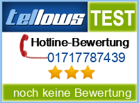 tellows Bewertung 01717787439