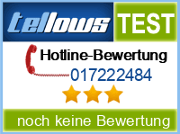 tellows Bewertung 017222484