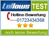 tellows Bewertung 01723434368