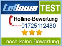 tellows Bewertung 01725112480