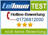 tellows Bewertung 01726812000