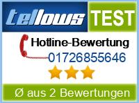 tellows Bewertung 01726855646