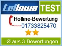 tellows Bewertung 01733825470