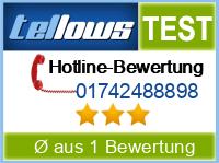 tellows Bewertung 01742488898