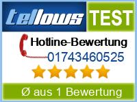 tellows Bewertung 01743460525