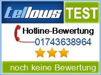 tellows Bewertung 01743638964