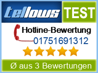 tellows Bewertung 01751691312