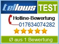 tellows Bewertung 017634074282