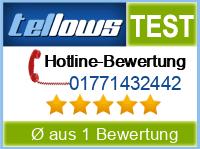 tellows Bewertung 01771432442