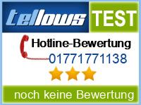 tellows Bewertung 01771771138