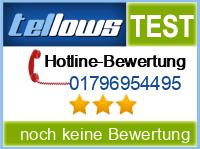 tellows Bewertung 01796954495