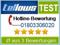 tellows Bewertung 01803306020