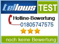 tellows Bewertung 01805747575