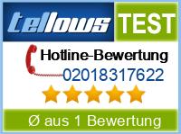 tellows Bewertung 02018317622