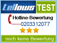 tellows Bewertung 0203312077