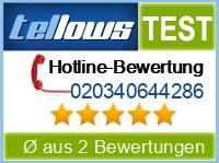 tellows Bewertung 020340644286