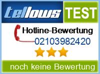 tellows Bewertung 02103982420