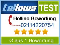 tellows Bewertung 02114220754