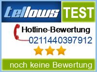 tellows Bewertung 0211440397912