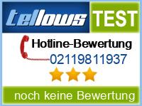 tellows Bewertung 02119811937