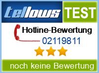 tellows Bewertung 02119811