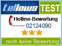 tellows Bewertung 02124090