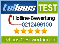 tellows Bewertung 0212499100