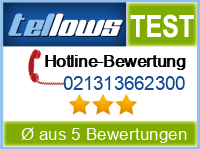 tellows Bewertung 021313662300