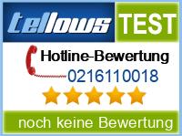tellows Bewertung 0216110018