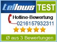 tellows Bewertung 0216157932311