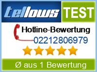 tellows Bewertung 02212806979